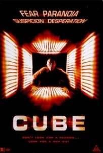 film d'horreur cube réalisé par Vincenzo Natali.