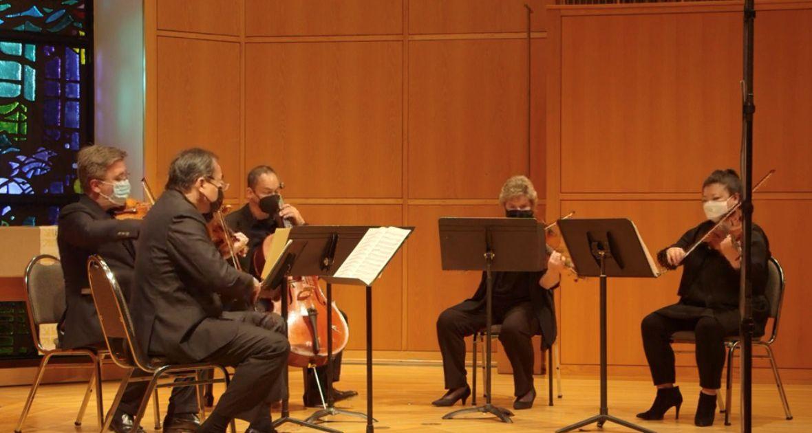 Le concert de Chamber Music International a l'air et sonne bien en streaming